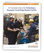 Selecting a Decanter Centrifuge Repair Facility