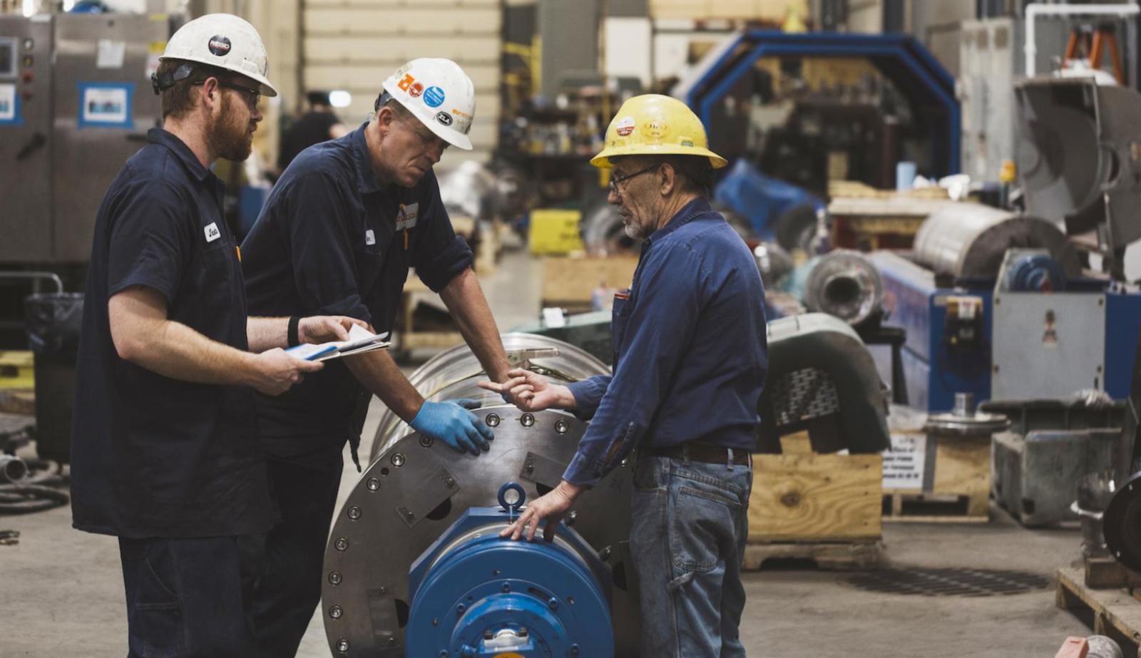 OEM Decanter Centrifuge Manufacturing Team