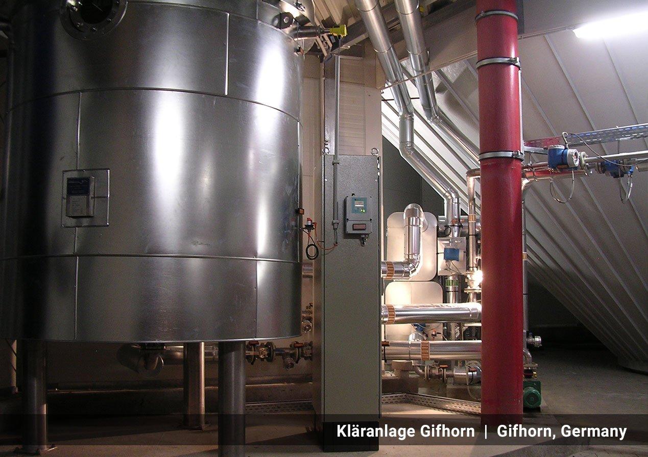 PONDUS Thermal Hydrolysis technology | Kläranlage Gifhorn  |  Gifhorn, Germany