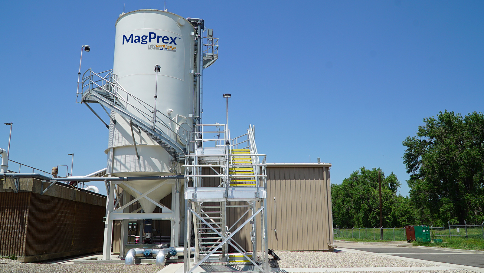 MagPrex installation at the Drake Water Reclamation Facility in Fort Collins, Colorado.